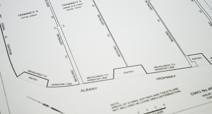 Driscolls Land Surveyors Lease Survey Plan