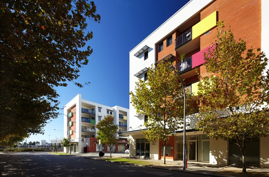 Imago 1 & Imago 2 Apartments – Cnr Fielder Street & Brown Street, East Perth